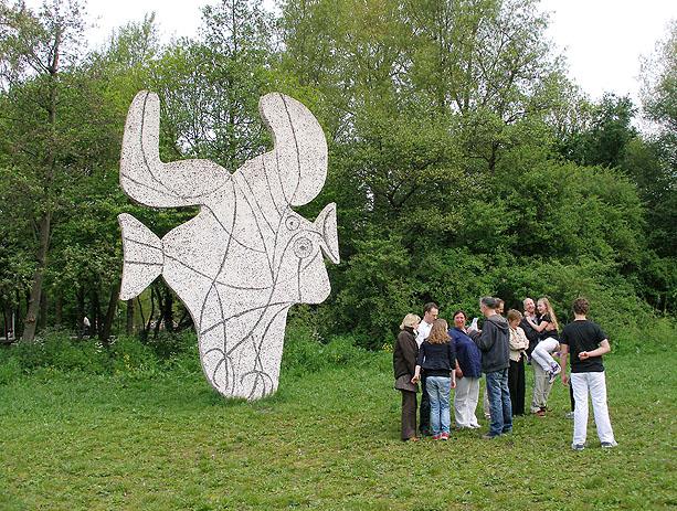 Citaten Picasso : Figure découpé